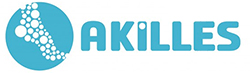 Akilles Fotvård Logotyp